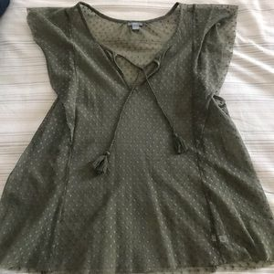 Aerie tunic top